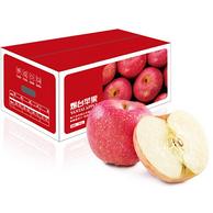 单果160g-200g,京觅 山东 烟台红富士苹果 净重 5kg