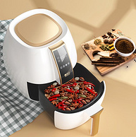 小米生态链,4L大容量,云食谱懒人一键烹饪:无言 智能空气炸锅