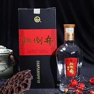 中华老字号:500mlx6瓶 扳倒井 福井 52度浓香型白酒