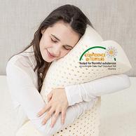 泰国进口乳胶原液,专利负离子益眠:玺堡 天然乳胶枕 30x50cm