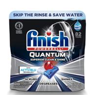 亚马逊销量第1!Finish 亮碟 Quantum系列 多效合一洗碗块 82块