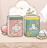茶颜悦色 方罐茶蜜桃桂花乌龙冷泡茶包 4盒装