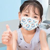 薇娅推荐,哆啦A梦联名款:50个 超亚 成人 儿童 一次性医用外科口罩