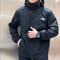 TEXAPORE防水透气面料 :TNF 男士 三合一冲锋衣