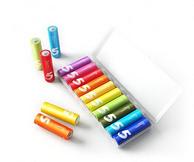 小米新品 彩虹5号碱性环保电池(10个装) 9.9元