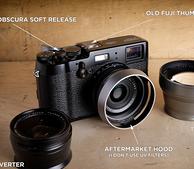 富士(FUJIFILM) X100T 数码旁轴相机棕色款