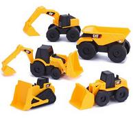 CAT 卡特彼勒 迷你工程车玩具5合1套装+轮式装载车 ¥98包邮(¥59+49-10)