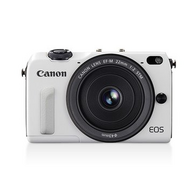 Canon 佳能 EOS M2 双镜套机 白色18-55mm+22mmf/2