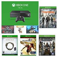 Microsoft 微软 Xbox One 1TB 假日超豪华套装+四款游戏