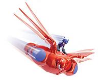 Big Hero 6 超能陆战队 大白和小宏 电动公仔