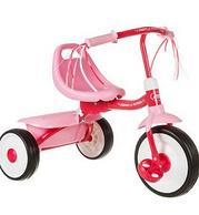 秒杀:Radio Flyer 雷德福来尔 粉色折叠式三轮车