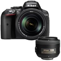 微信端:Nikon 尼康 D5300 单反双镜头(18-140mm+DX 35mm f/1.8G)套机