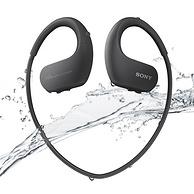 SONY 索尼 可穿戴式运动防水音乐播放器 WS414 黑色