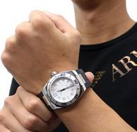 历史新低!HAMILTON 汉密尔顿 海军系列 男士深潜机械腕表H78615355