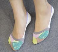 日系素简女士卡通袜子5双装