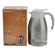Tiger 虎牌 不锈钢便携式保温热水瓶1.6L 199元包邮(其他渠道299+)