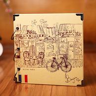 DIY手工相册 粘贴式纪念册影集10寸 多款 拍下9.9元包邮