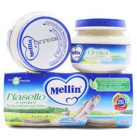 Mellin美林 婴幼儿辅食深海鳕鱼泥两罐装160g*5