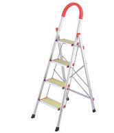 沃尔玛置顶供应品牌,奥鹏 铝合金加厚折叠梯子 2414G