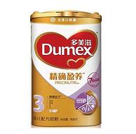 双11预售:Dumex 多美滋 精确盈养 幼儿配方奶粉 3段 900g*6罐