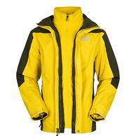 北面 男式防水透气三合一冲锋衣