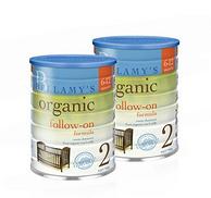贝拉米 有机奶粉2段 900克/罐 2罐装