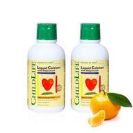 预售: CHILDLIFE 童年时光 钙镁锌乳钙液体补剂 474ml*2瓶