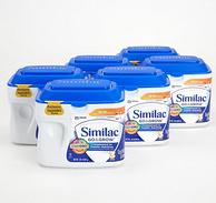 限prime会员:Abbott 雅培 Similac心美力金护 3段婴儿奶粉(12-24个月) 624g*6罐