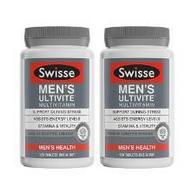 新低:Swisse  男士/女士 复合维生素片 120片/瓶*2