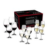 大白菜! 限Prime会员,Riedel 醴铎 至爱系列 香槟白红葡萄酒杯礼盒装 12只装