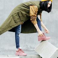 Palladium制造商供货,复古翻帮休闲女鞋