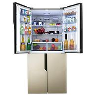 海信440L十字对开门冰箱 BCD-440WDGVBP