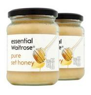 英国进口:Waitrose 纯结晶蜂蜜 454g*2瓶