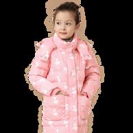 史努比2016新款女童羽绒服中长款