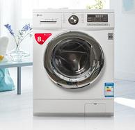 LG WD-T12412DG 8公斤变频滚筒洗衣机