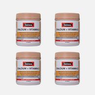 最新效期,Swisse Ultiboost钙+VD 150粒*4