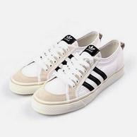 Adidas 阿迪达斯三叶草 休闲帆布板鞋
