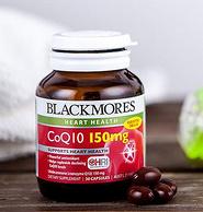 Blackmores 澳佳宝 75mg 辅酶Q10 营养素胶囊 30粒*3瓶