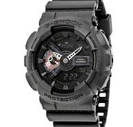 CASIO 卡西欧 G-Shock系列 GA110MB-1A 男士双显运动腕表