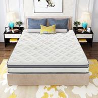 正反两用!Sleemon喜临门 晨曦 软硬两用弹簧床垫 送乳胶U型枕