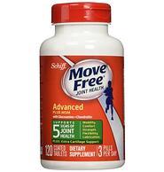 Move Free维骨力 绿盒维骨力关节炎止痛配方120粒