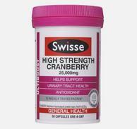 Swisse 高浓度蔓越莓精华胶囊 30粒*3瓶