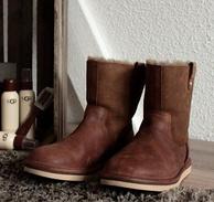 UGG 女士经典款真皮雪地靴