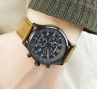 Prime会员 TIMEX 天美时 户外系列  T499059J 男士三眼石英手表