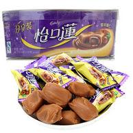 限地区:怡口莲 巧克力味夹心太妃糖 美味榛仁味(碗装)188g