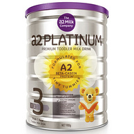 新西兰原装进口:澳洲a2 Platinum 白金版婴幼儿奶粉3段900g(1-3岁) 188元可参加满减(1号店266元)