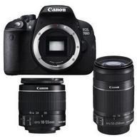 Canon 佳能 EOS 700D 双镜头单反套机(18-55mm/55-250mm)