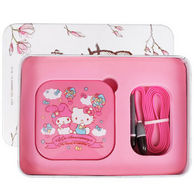 HELLO KITTY LED化妆镜充电宝4000毫安KT1502
