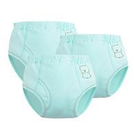 北极绒 全棉宝宝训练裤 3条装