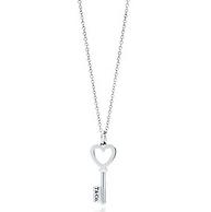 情人节送礼! Tiffany & Co蒂芙尼 时尚钥匙吊坠项链 35483853